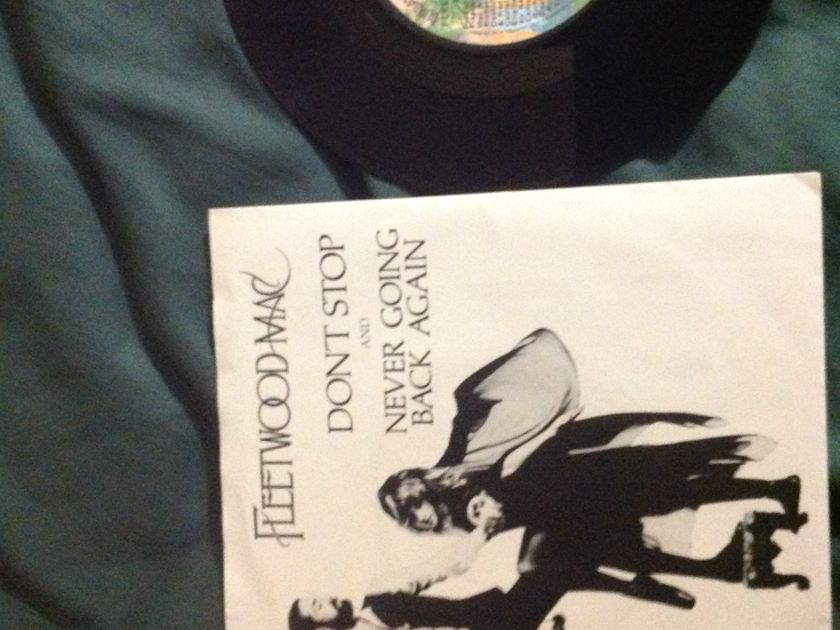 Fleetwood Mac - Don't Stop Promo 45 With Sleeve Mono Stereo