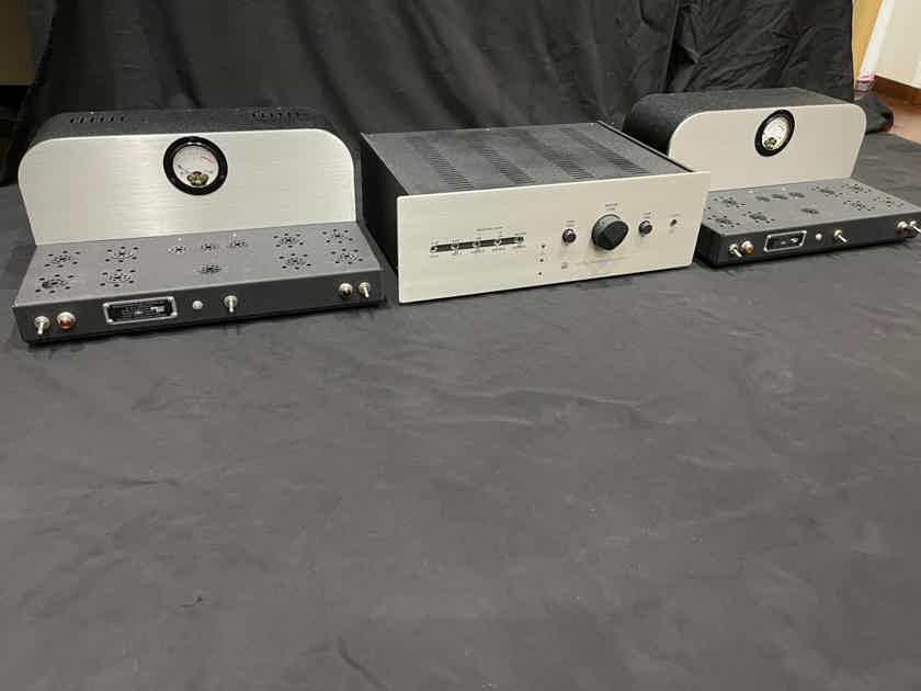 Atma-Sphere M-60 OTL Mono Block Brand New 220-240V Fully Optioned.