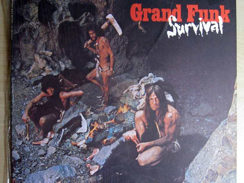 Grand Funk - Survival - 1971 Capitol Records SW-764