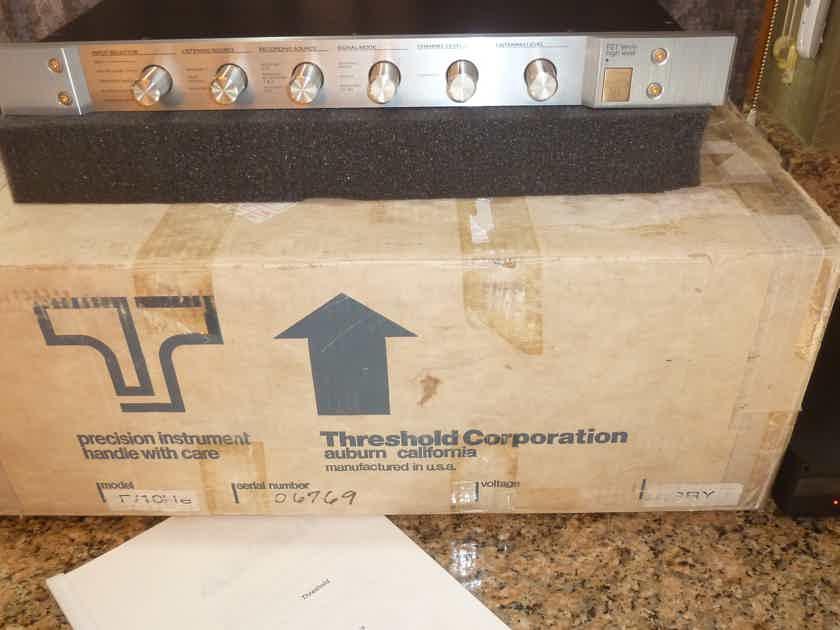 Threshold FET Ten E - Legendary Nelson Pass Design - Late Model Version 4 Unit