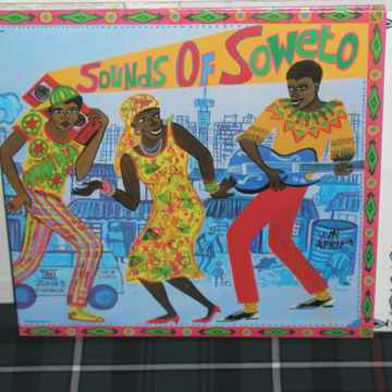 "Various - ""SOUNDS OF SOWETO"" Rainbow Capitol  wally  2lp"