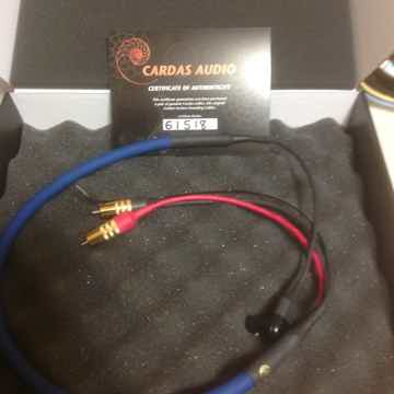 Cardas Audio Clear phono- 1M + angle din
