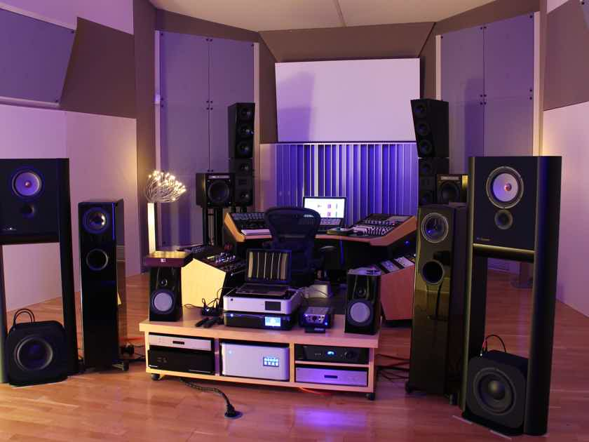 Grimm Audio LS1s Three-Way Monitoring System (Black Nextel)