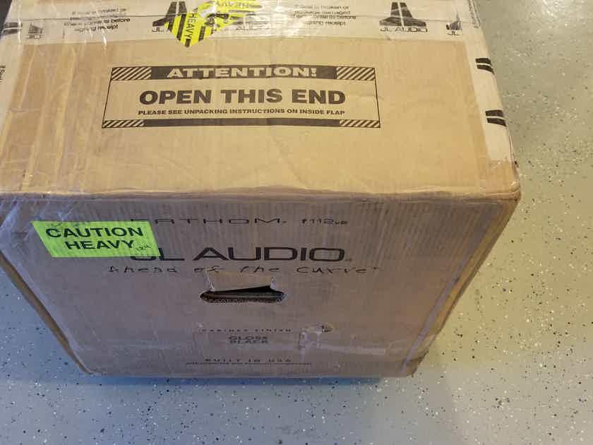 NEW JL Audio Fathom 112v2 NEW