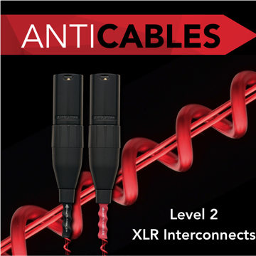 ANTICABLES Level 2 Performance Series Analog XLR Balanced Interconnects
