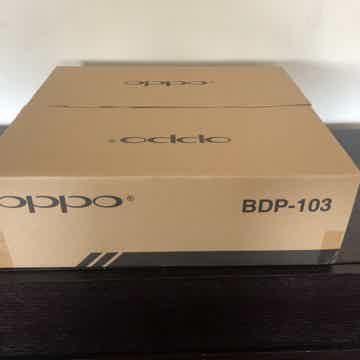 OPPO O BDP-103 Blue-Ray/CD Player