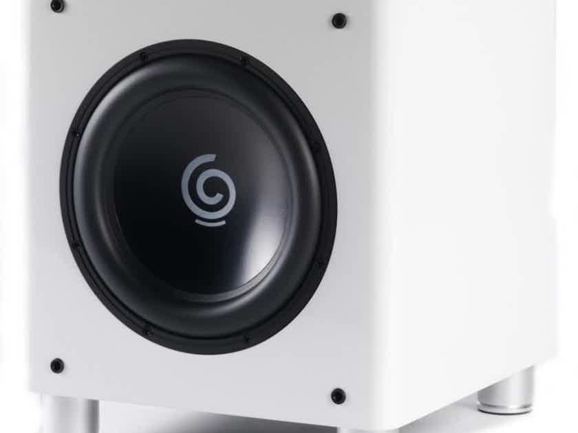"""Sumiko S.10 12"""" Powered Subwoofer; White; S10 (New - Closeout) (20142)"""