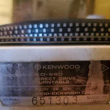 Kenwood KD-550