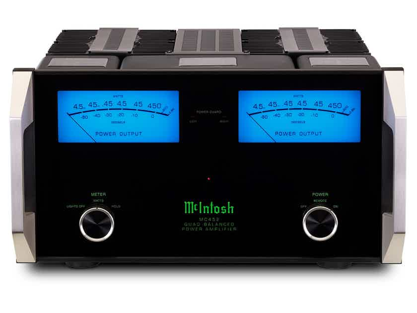 McIntosh MC452 one owner trade in from an auth Mcintosh dealer