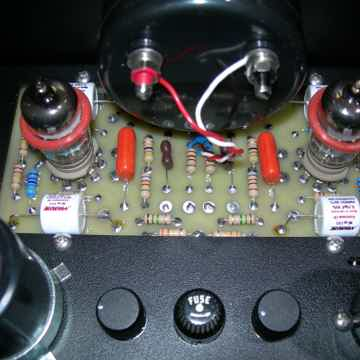 DYNACO BY WILL VINCENT ALL BLACK....ST-70  TRIODE WIRED