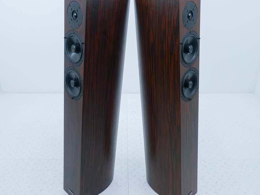 Audio Physic Sitara Floorstanding Speakers Macassar Ebony Pair (13070)