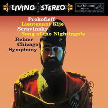 Fritz Reiner  Prokofiev: Lieutenant Kije/ Stravinsky: S...
