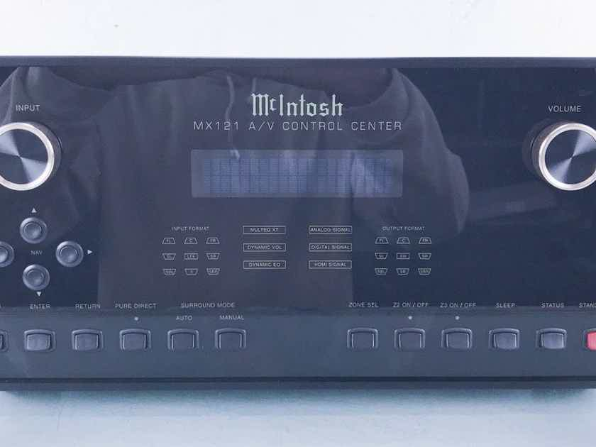 McIntosh MX121 7.1 Channel Home Theater Processor Preamplifier; MX-121 (15149)