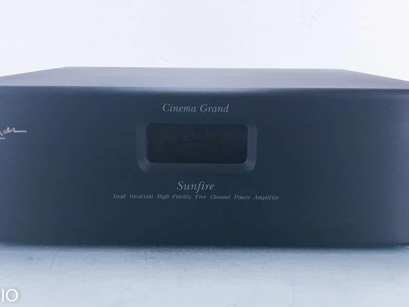 Sunfire Cinema Grand Signature 5 Channel Power Amplifier  (13730)