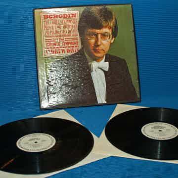 "BORODIN / Davis   - ""The Three Symphonies"" -  CBS 1977 ..."