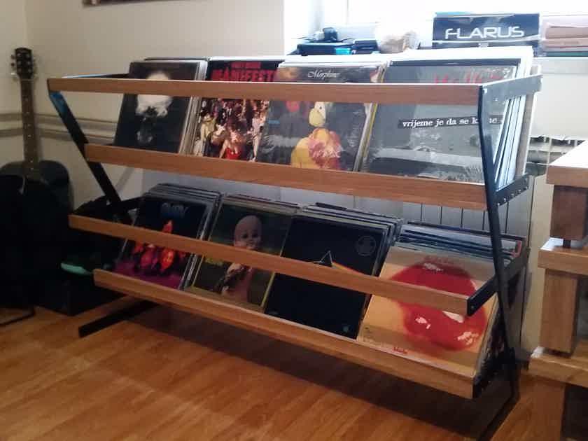 SAM (Small Audio Manufacture) LP Vinyl Rack for 280+ LP's