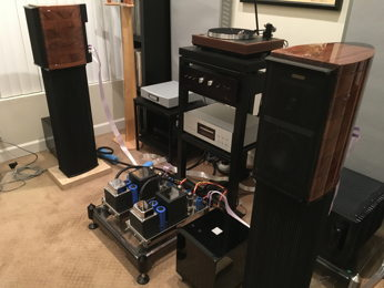 Sonus Faber Guarneri system