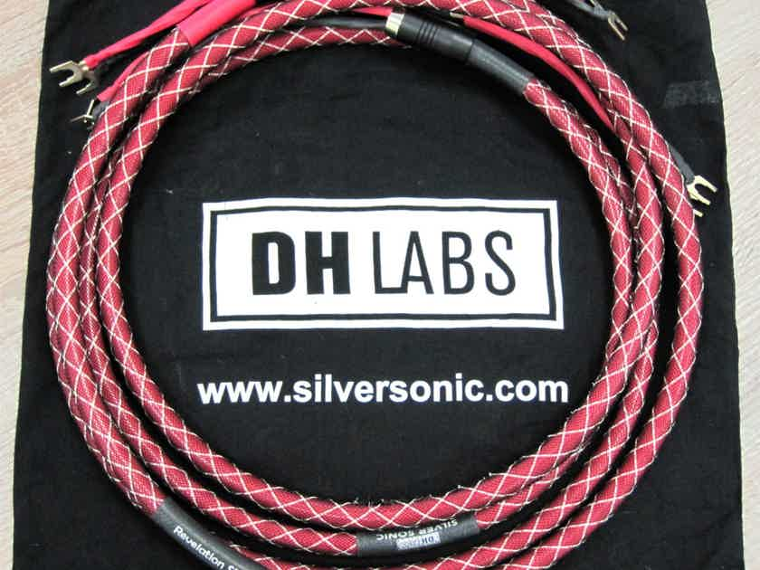 DH Labs Revelation  SP 7 FEET Pair Speaker Cable 12 x 20AWG pure silver!!