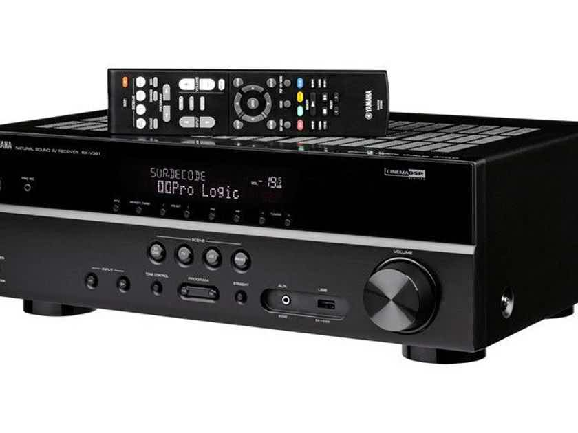 Yamaha RX-V381 5.1 Channel Home Theater Receiver RXV381; 4K (New / Open Box) (16236)