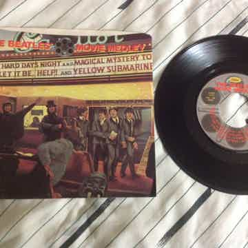 The Beatles  - Movie Medley 45 Single With Picture Slee...