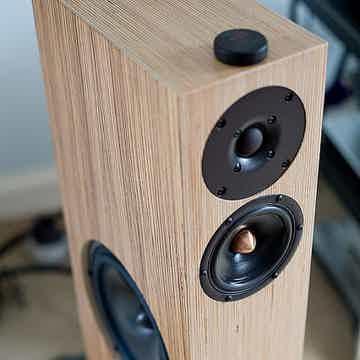 Shun Mook Mpingo Discs on speakers