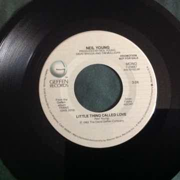 Neil Young  Little Thing Called Love Promo Mono/Stereo ...