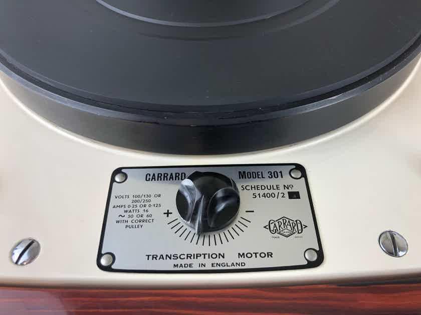 Garrard 301 with Custom Plinth and SME 309 Tonearm - A SkyFi Exclusive
