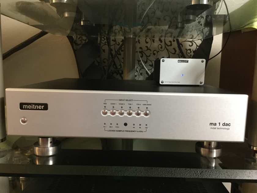 EMM Labs DAC-2 Meitner MA-1 SILVER
