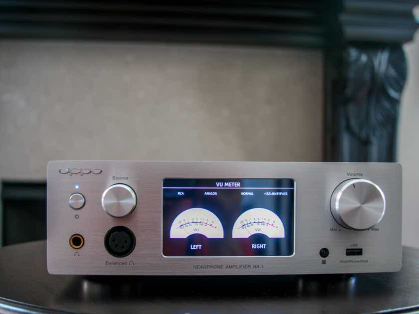 OPPO HA-1 DAC and Headphone Amp in Silver