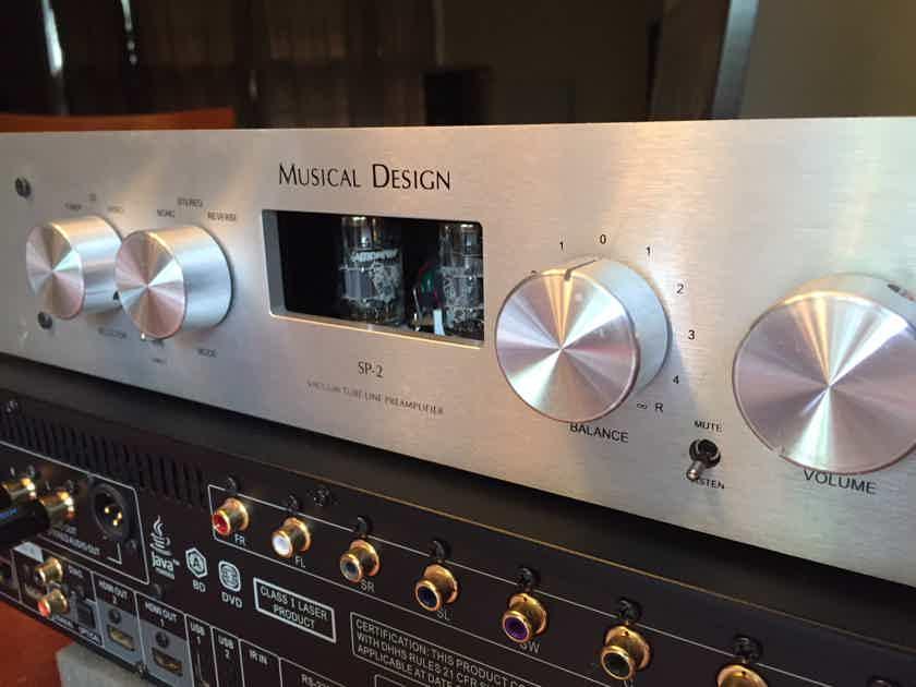 Musical Design SP-2B Platinum preamp