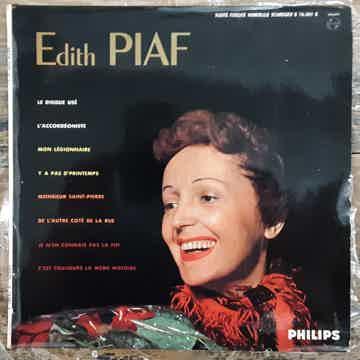 Edith Piaf - N° 1 EX 1963 10 Inch Vinyl LP Record FRANC...