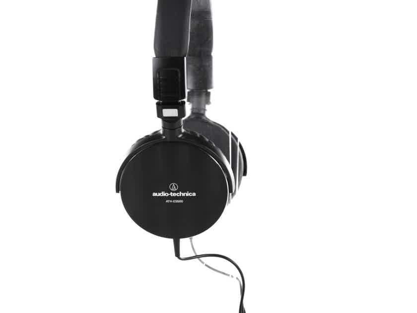 Audio Technica ATH-ES500 Closed Back On-Ear Headphones; ATHES500 (20548)