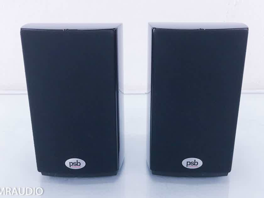 PSB Image Mini Bookshelf Speakers; Piano Black Pair(11184)