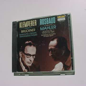 Rosbaud Mahler vox box cdx2 5520 USA 1995