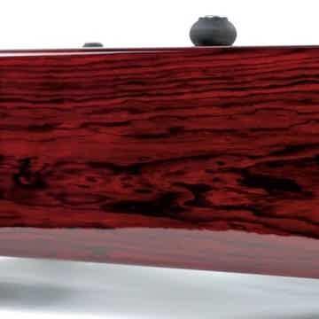 Thorens TD124 Statement Cocobolo Panzerholz Long Base Plinth by Artisan Fidelity