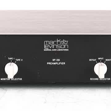 No. 28 Stereo Preamplifier