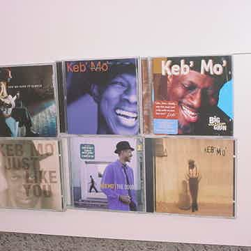 American Blues Musician Keb Mo Kevin Roosevelt Moore CD LOT OF 6