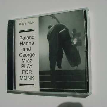 MHS 512192H CD JAZZ Rolland Hanna George Mraz play for ...