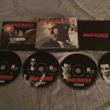 Blade Runner Windows 95 CD ROM Blade Runner The First Time Real 3-D Aventure