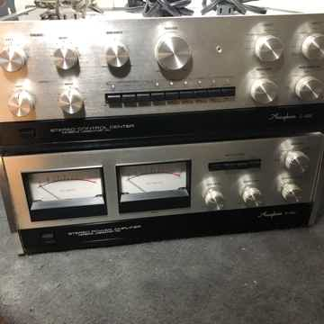 Accuphase C-200 & P-300