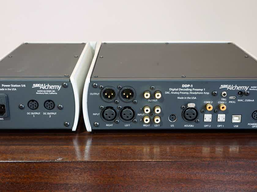 Audio Alchemy DDP-1 Digital Decoding Preamp w/ PS-5 Upgrade Power Supply