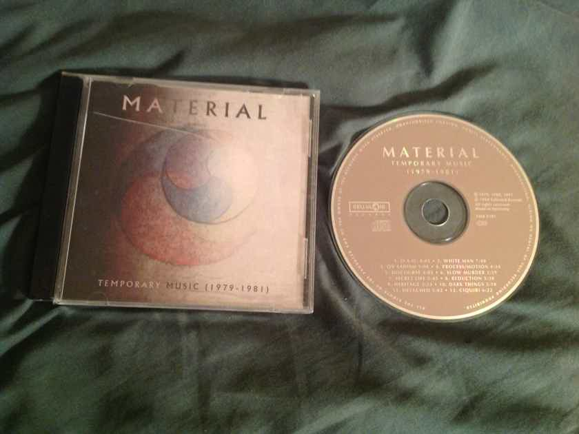 Material  Temporary Music(1979-1981) Germany Compact Disc