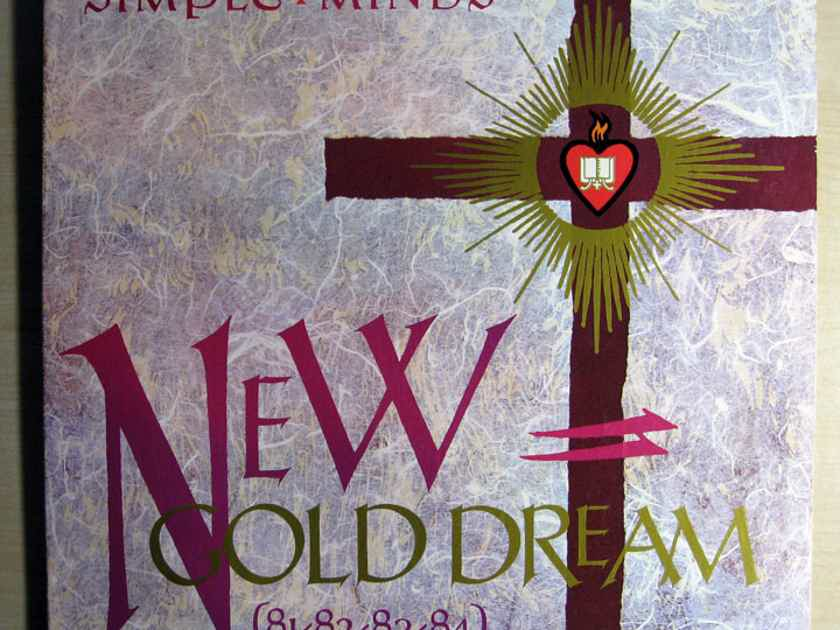 Simple Minds - New Gold Dream (81-82-83-84) - 1982 A&M Records SP-6-4928
