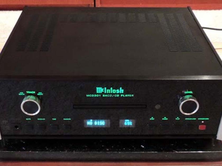 McIntosh, MCD301  SACD/CD Player, Cust. Trade, FREE Ship C.U.S.!