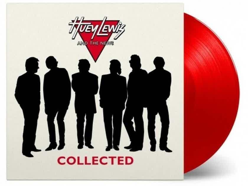 Huey Lewis And The News Collected RED Vinyl