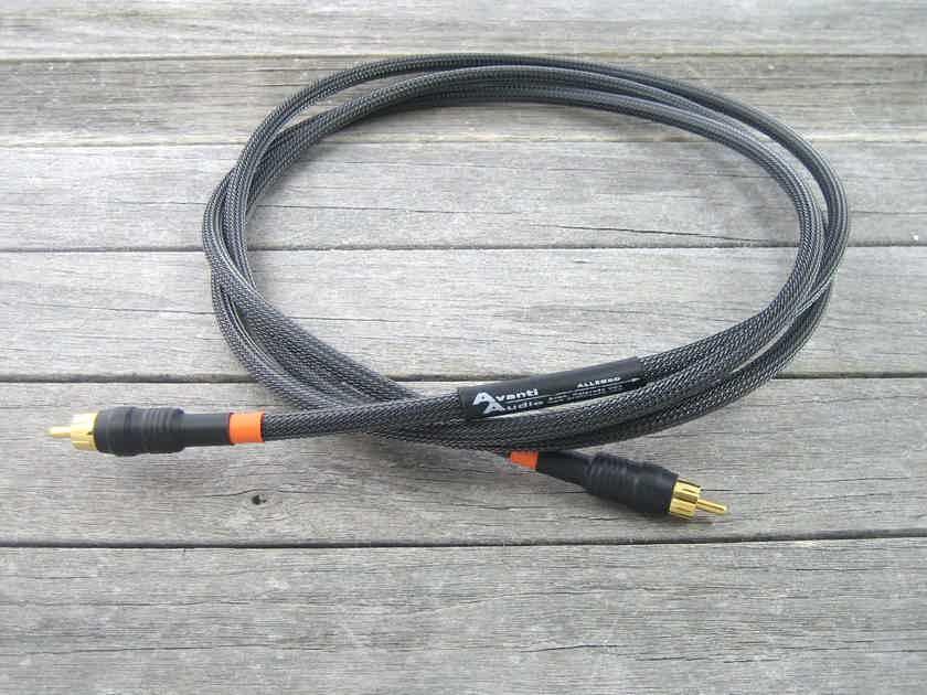 Avanti Audio Allegro Digital 1.5M SPDIF Interconnect- RCA or BNC