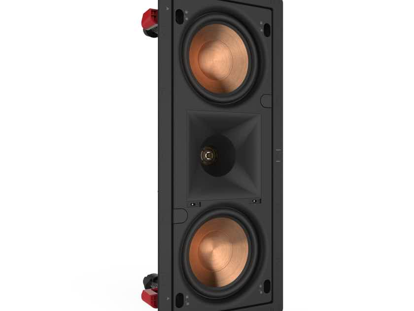 Klipsch PRO-250RPW-LCR 2 Way In-Wall Speakers