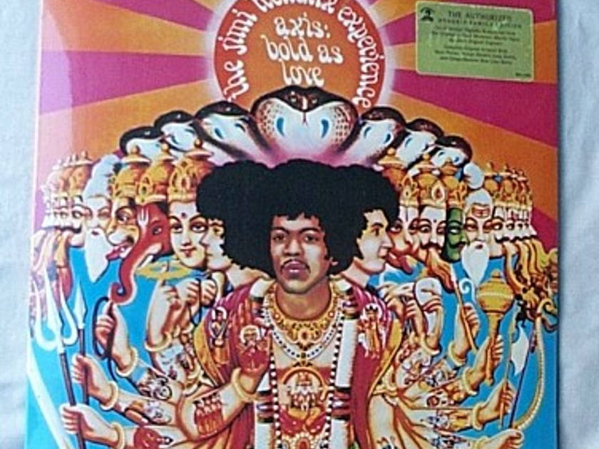 JIMI HENDRIX EXPERIENCE LP-- - Axis: Bold as Love-- rare 1997 SEALED UK album--Family Hendrix