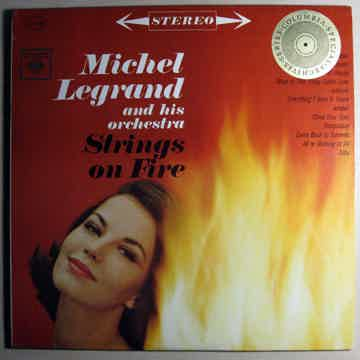 Michel Legrand And His Orchestra Strings On Fire