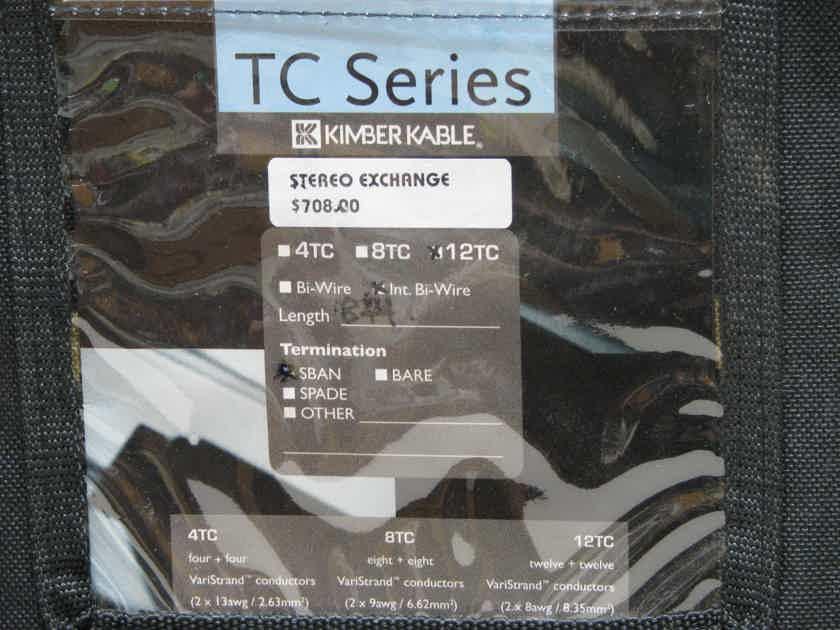 Kimber Kable 12TC 8Ft Pair Internal Bi-wire